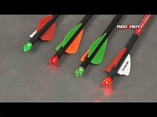 Best Lighted Nocks For Crossbow Bolts Red Lighted Crossbow Capture Nocks Youtube