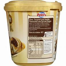 Peters Light And Creamy Vanilla Slices Peters Light Amp Creamy Choc Caramel Amp Vanilla Swirl Ice