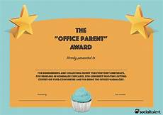 Funny Employee Award Certificates 20 Hilarious Office Awards To Embarrass Your Colleagues