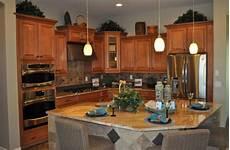 Triangle Kitchen Island Island Shape Adds To Kitchen Functionality