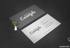 Layout Of A Business Grayscale Business Card Layout Buy This Stock Template