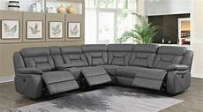 Gray Reclining Sectional Sofa 3d Image by Alton Gray Faux Suede Power Reclining Sectional Sofa