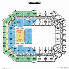 Sun Dome Basketball Seating Chart Carrier Dome Seating Chart Seating Charts Amp Tickets