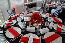 violet gardens floral designs red silver and black wedding