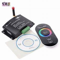 Touch Control Led Lights Dc12v 24v Rgb Wifi Led Controller Rf Touch Remote Control
