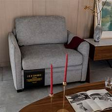 merax living room furniture single chair pull out sofa bed