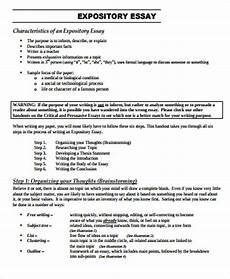What Is A Expository Essay Example Free 8 Sample Expository Essay Templates In Ms Word Pdf