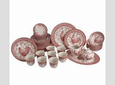 Churchill 45 piece Rooster Dinnerware Service for 8
