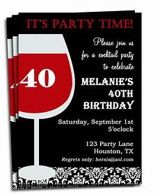 Free Printable Birthday Invitations For Adults Birthday Invitation Printable Personalized For Your