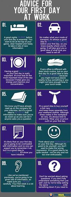 First Day Of Work Advice Tips For Your First Day Of Work