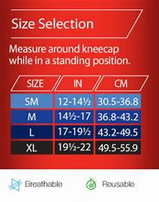 Ace Bandage Size Chart Amazon Com Ace Knitted Knee Brace With Side Stabilizers