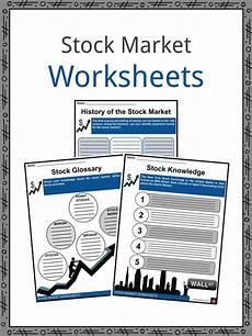 Stock Market Worksheet Stock Market Facts Worksheets Amp History For Kids