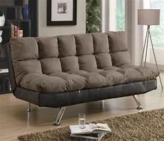 micro fiber vinyl futon sofa sleeper by coaster sleepworks