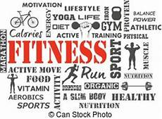 Words Related To Fitness Fitness Words Means Physical Activity And Exercise