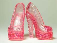 Light Pink Sparkly Heels Sparkle Light Pink Stacked Heel Monster High Shoes For
