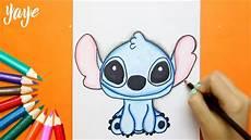 como dibujar a stitch how to draw stitch lilo stitch