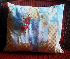 of all crafts vintage fabric pillows