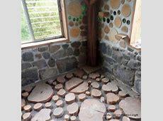 (19) Cordwood Construction   Diy flooring, Flooring, Cordwood homes