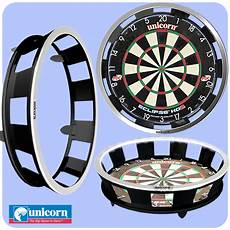 Unicorn Solar Flare Dartboard Lighting System Unicorn Solar Flame Integrated Illuminated Pro Surround