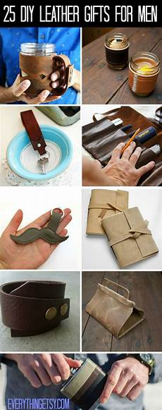 25 diy leather gifts for everythingetsy