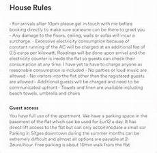 Rental House Rules Template Download The Airbnb Welcome Letter Template As Airbnb