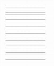Letter Writing Paper Template 25 Free Lined Paper Templates Free Amp Premium Templates