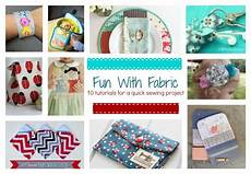 with fabric 10 tutorials for a sewing project