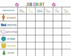 Job Responsibilities Chart Job Chart For Baby Toddler You Know To Keep Things
