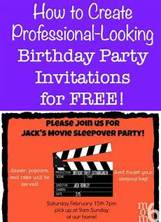 Create An Invitation For Free How To Create Birthday Party Invitations Using Picmonkey