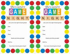 Game Night Invitation Template Host A Game Night Party Loves Baking