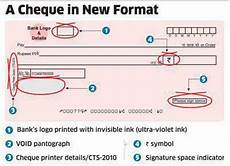 Cheque Record Book Format What Is The Format Of Cts 2010 Standard Cheque Book