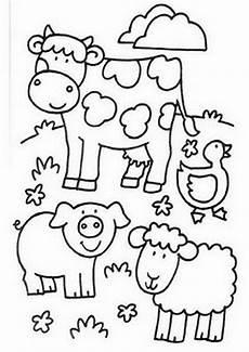 Bauernhoftiere Ausmalbilder Bauernhof Kostenlose Ausmalbilder Zeichnung Bauernhof