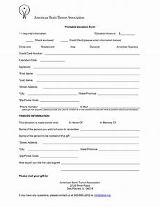 Form Letter Template Word 6 Free Donation Form Templates Excel Pdf Formats