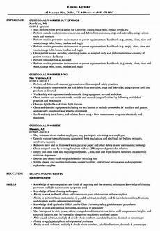 Custodian Job Description Resume Custodial Worker Resume Samples Velvet Jobs