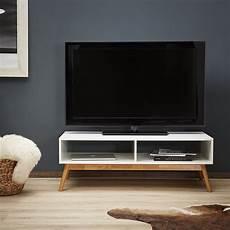 lowboard mobile tv lomos 174 no 12 in legno di colore bianco
