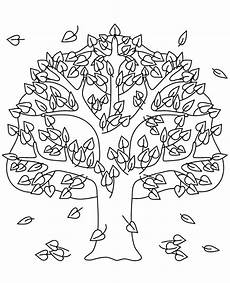 an autumn tree coloring page topcoloringpages net