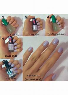 How To Dry Gel Nails Without Uv Light Easy Gel Nails Without Uv Using Gelous Gel Coat Any