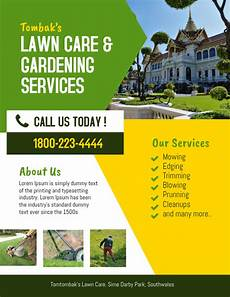 Landscape Flyer Template Lawn Amp Landscaping Service Flyer Template Postermywall