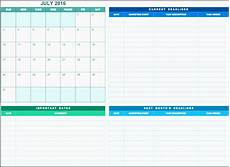 Marketing Calendar Template Excel 6 How To Make Project Team Communication Planner In Excel