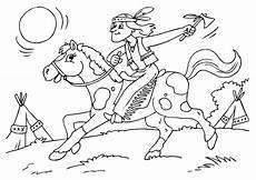Ausmalbilder Indianer Mit Pferd Ausmalbilder Indianer Pferd Ausmalbilder