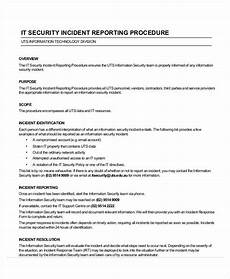 Incident Report Examples It Security Incident Report