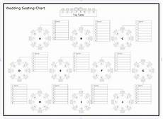 Downloadable Seating Chart Reception Seating Charts 101