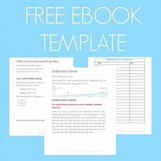 Free Books Template Free Ebook Template Preformatted Word Document What