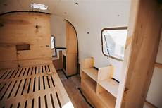 before after vintage airstream renovation apartment