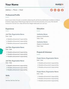 eresume template the 17 best resume templates for every type of professional
