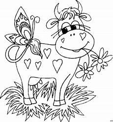 Malvorlage Lustige Kuh Verliebte Kuh Ausmalbild Malvorlage Comics