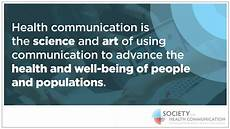 Health Communication Health Communication