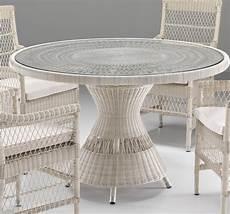tavolo in rattan sintetico tavolo rotondo in rattan sintetico etnico outlet mobili