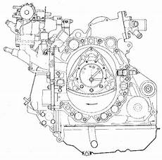 Birotor Cutaway Wankel Engine Wallpaper 3033x3000
