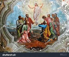 fresco old resurrection of fresco stock photo 73125796